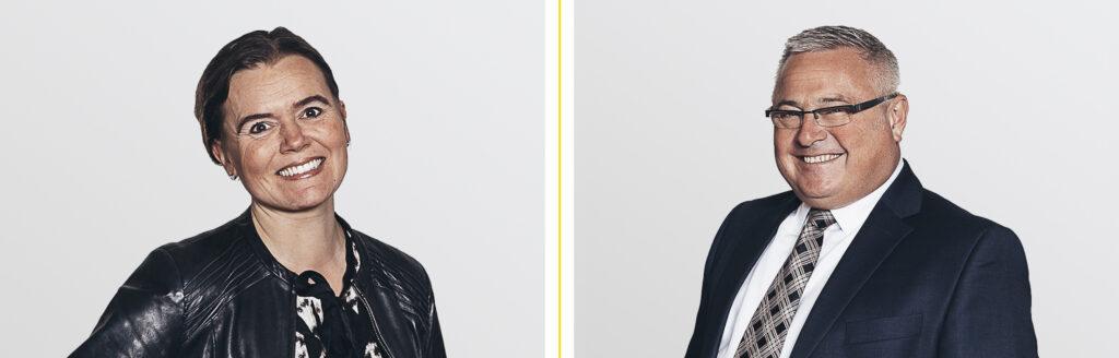Nina Nyman & Simon Bloxham.